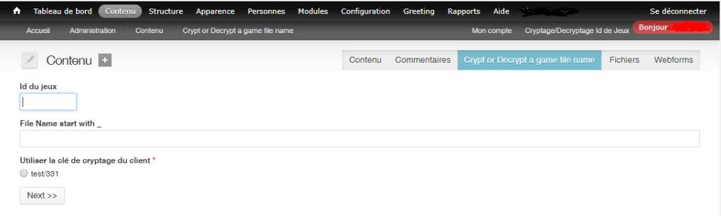 Module Drupal en PHP